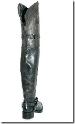 Over the knee Biker Boot