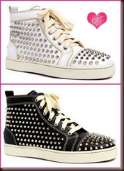 Christian Louboutin High Top with Studs
