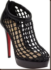Christian Louboutin Coussin Caged Booties
