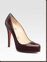 Christian Louboutin OTK black pointed toe pump
