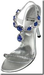 stuartweitzman 2 million dollar shoe tanzanite and diamonds