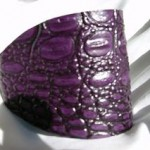 Purple Gator Heel Shield