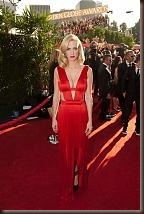 January Jones in Orange