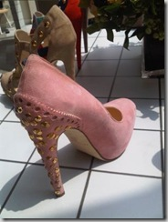 Brian Atwood Pink Suede