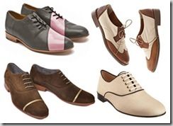 oxfords for women still look like mens shoes