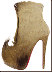 christian louboutin 2011 puck fur boot from shoerazzi dot com